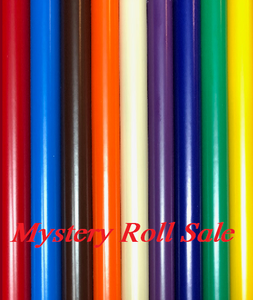 Mystery Adhesive Roll Sale! 5 - 5 foot rolls for $15.00