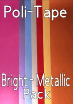 Poli-Tape Htv Bright - Metallic Pack 7 sheets
