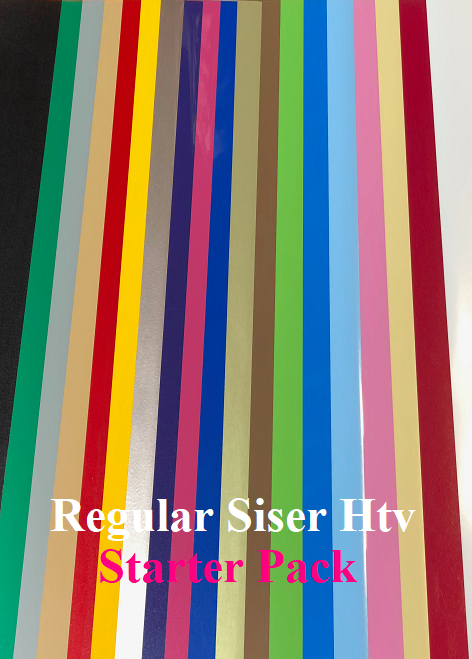 Regular Siser Easyweed Htv Starter Pack, one of every 20 colours