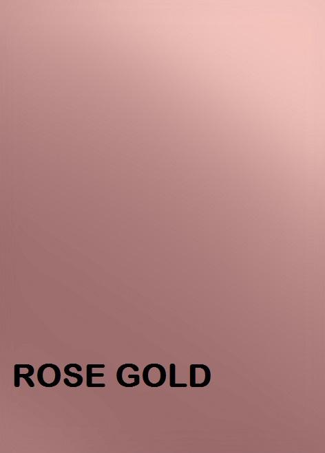 Rose Gold Siser PSV Permanent Adhesive Outdoor Vinyl equivalent to 651