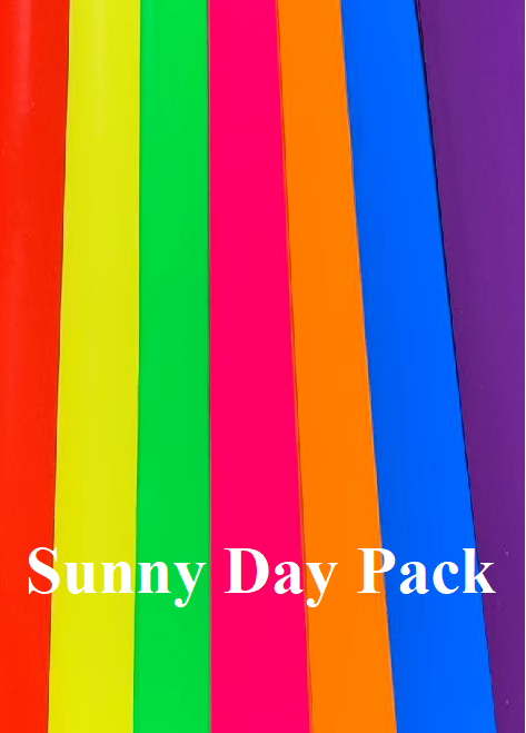 Sunny Day 7 Sheet Oracal 651 Adhesive Bundle