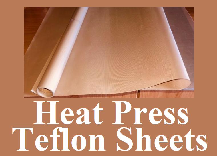 "Teflon Sheets for Heat Press or Iron to Protect your Press and Clothing 16"" x 22.5"""