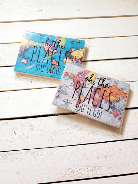 WORLD MAP MAGNETS (WHSL)