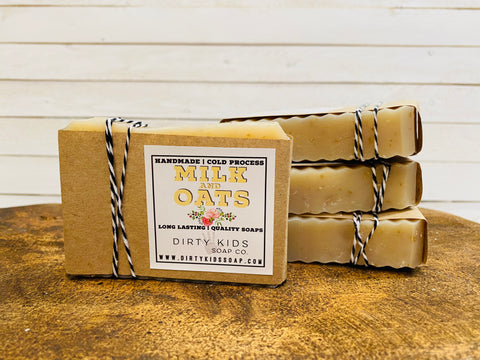 MILK N' OATS BAR SOAP (WHSL)