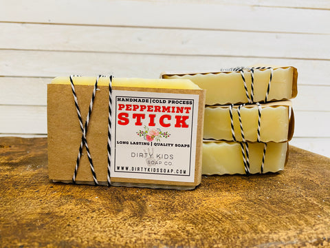 PEPPERMINT STICK BAR SOAP (WHSL)
