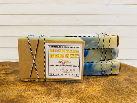 MOUNTAIN BREEZE BAR SOAP (WHSL)