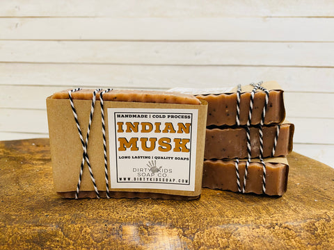 INDIAN MUSK BAR SOAP (WHSL)