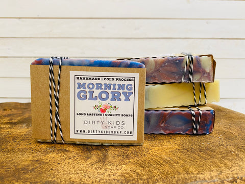 MORNING GLORY BAR SOAP (WHSL)