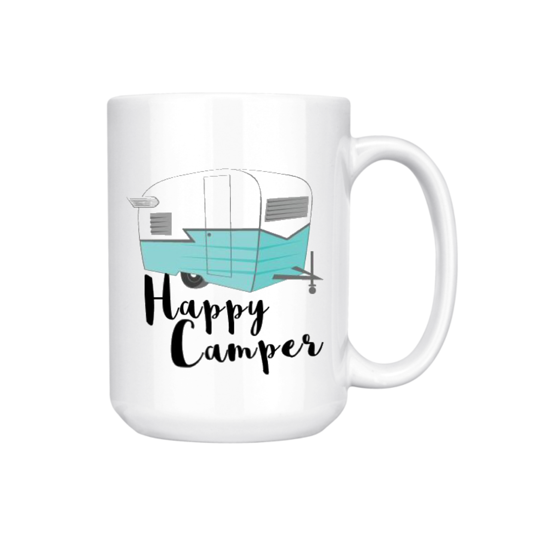 HAPPY CAMPER MUG (WHSL)