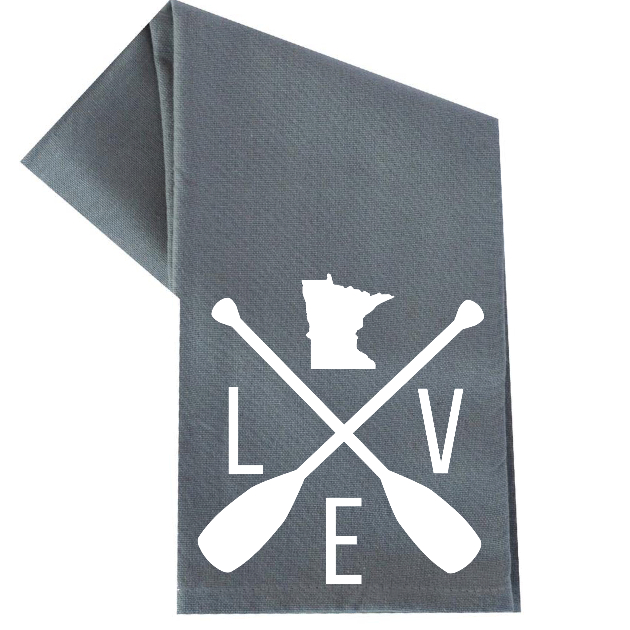 LOVE MINNESOTA TEA TOWEL (WHSL)