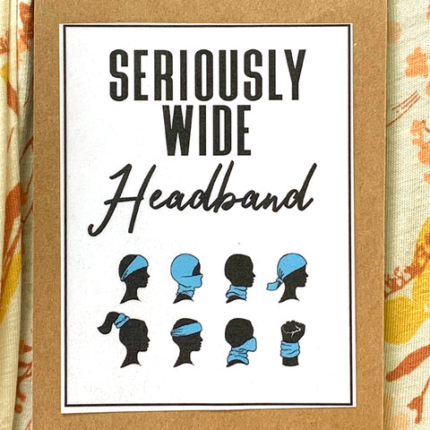 SERIOUSLY WIDE HEADBANDS