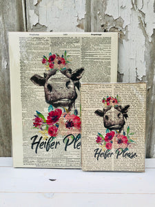 HEIFER PLEASE DICTIONARY PRINT (WHSL)