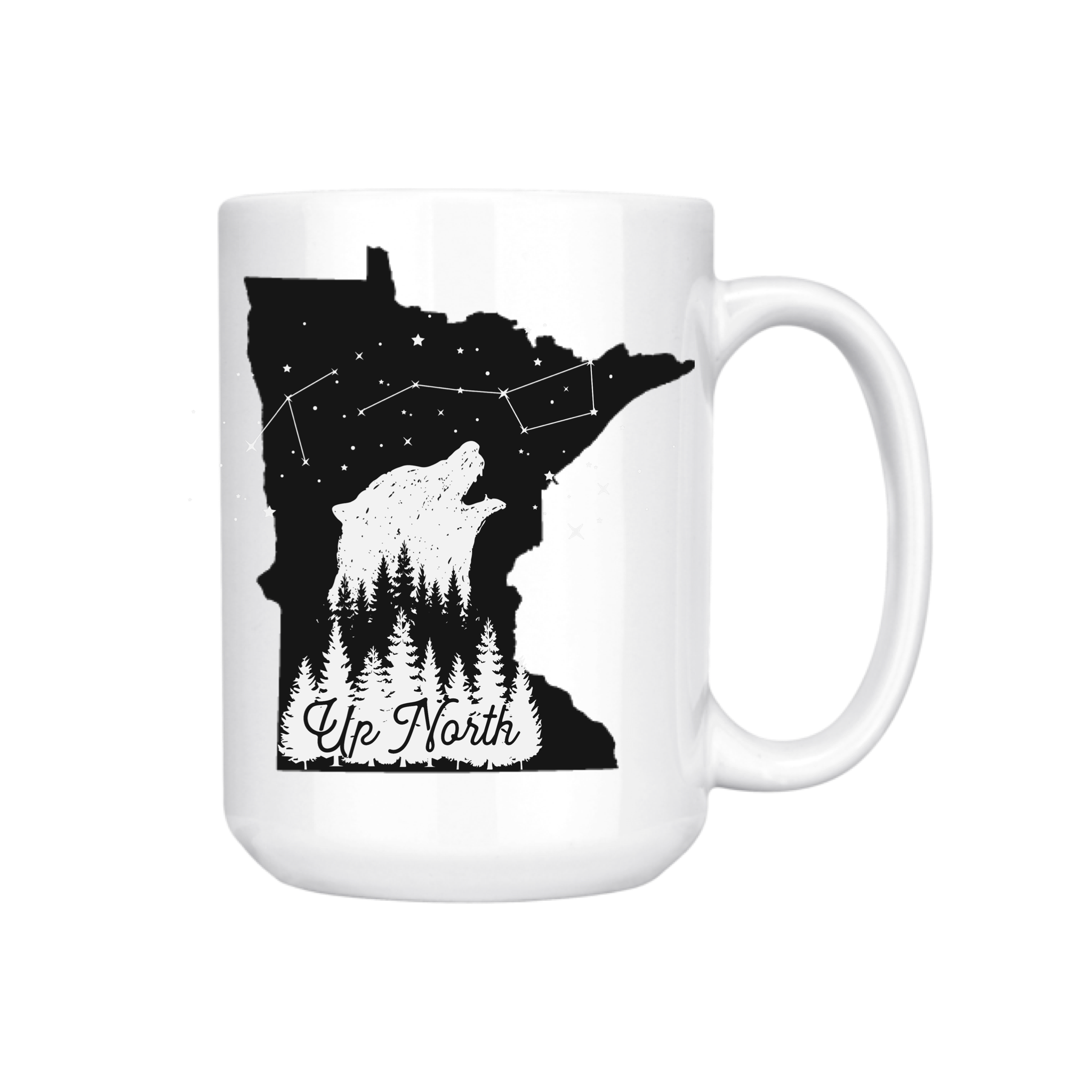 MINNESOTA UP NORTH MUG