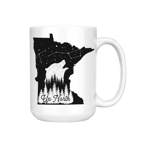 MINNESOTA UP NORTH MUG (WHSL)