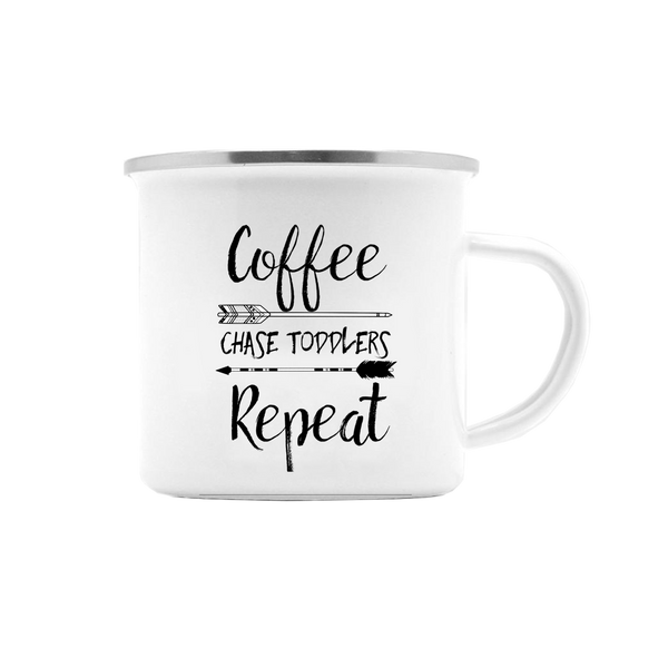 COFFEE CHASE TODDLERS REPEAT MUG (WHSL)