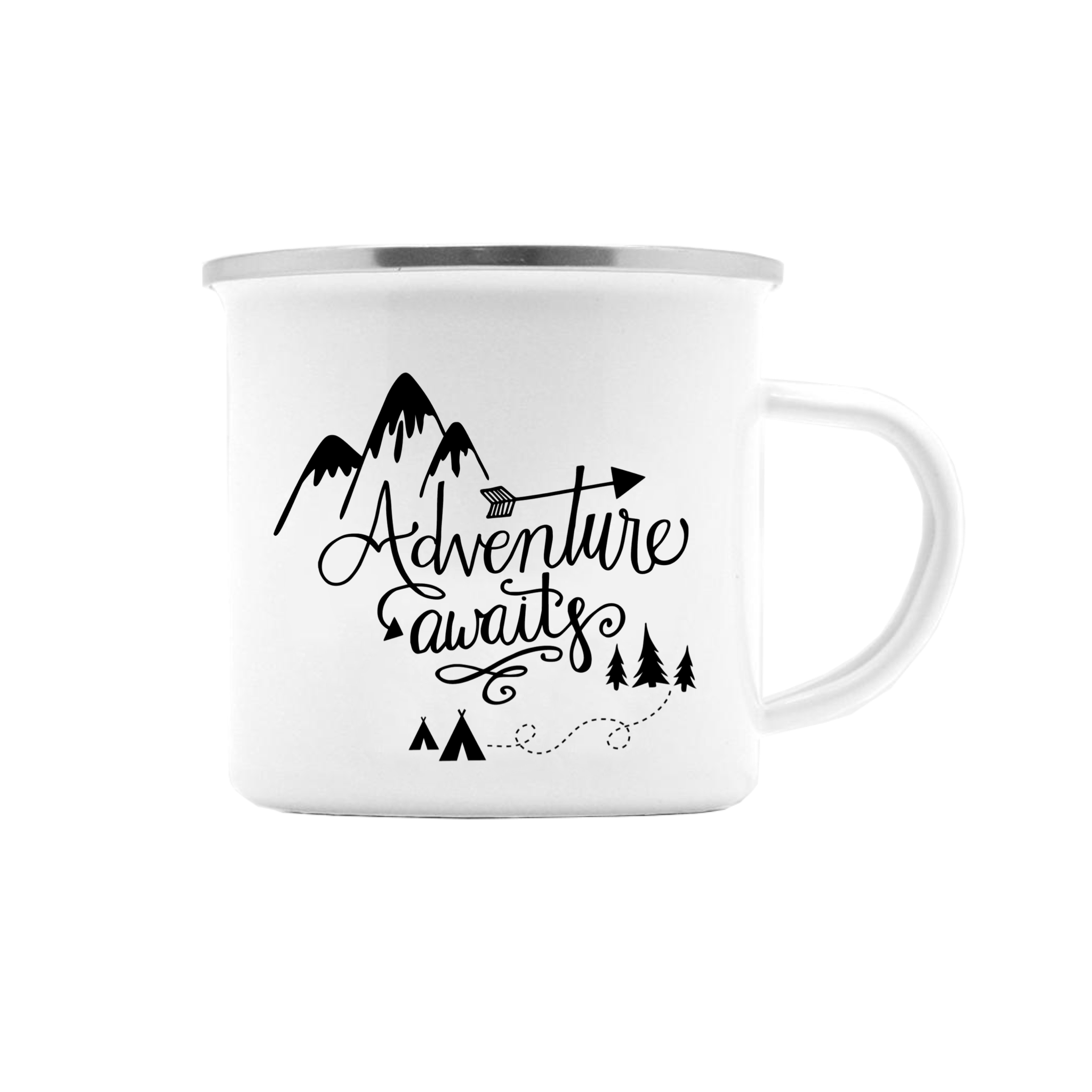 ADVENTURE AWAITS CAMP MUG (WHSL)