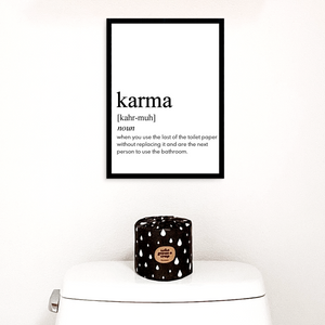 KARMA FARMHOUSE PRINT