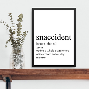 SNACCIDENT FARMHOUSE PRINT (WHSL)