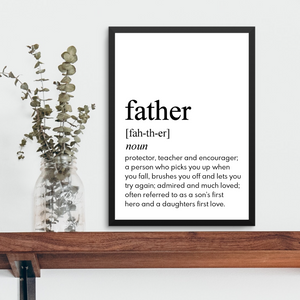 FATHER FARMHOUSE PRINT
