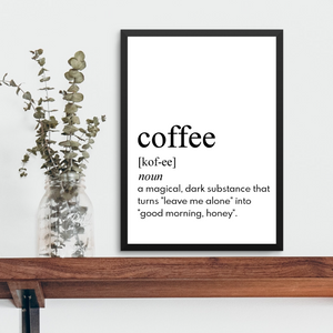 COFFEE FARMHOUSE PRINT (WHSL)