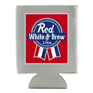 RED, WHITE, & BREW KOOZIE (WHSL)