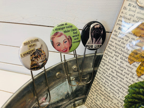 BUTTON BOOKMARKS (WHSL)