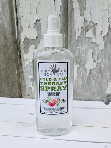 COLD AND FLU THERAPY SPRAY (EUCALYPTUS)
