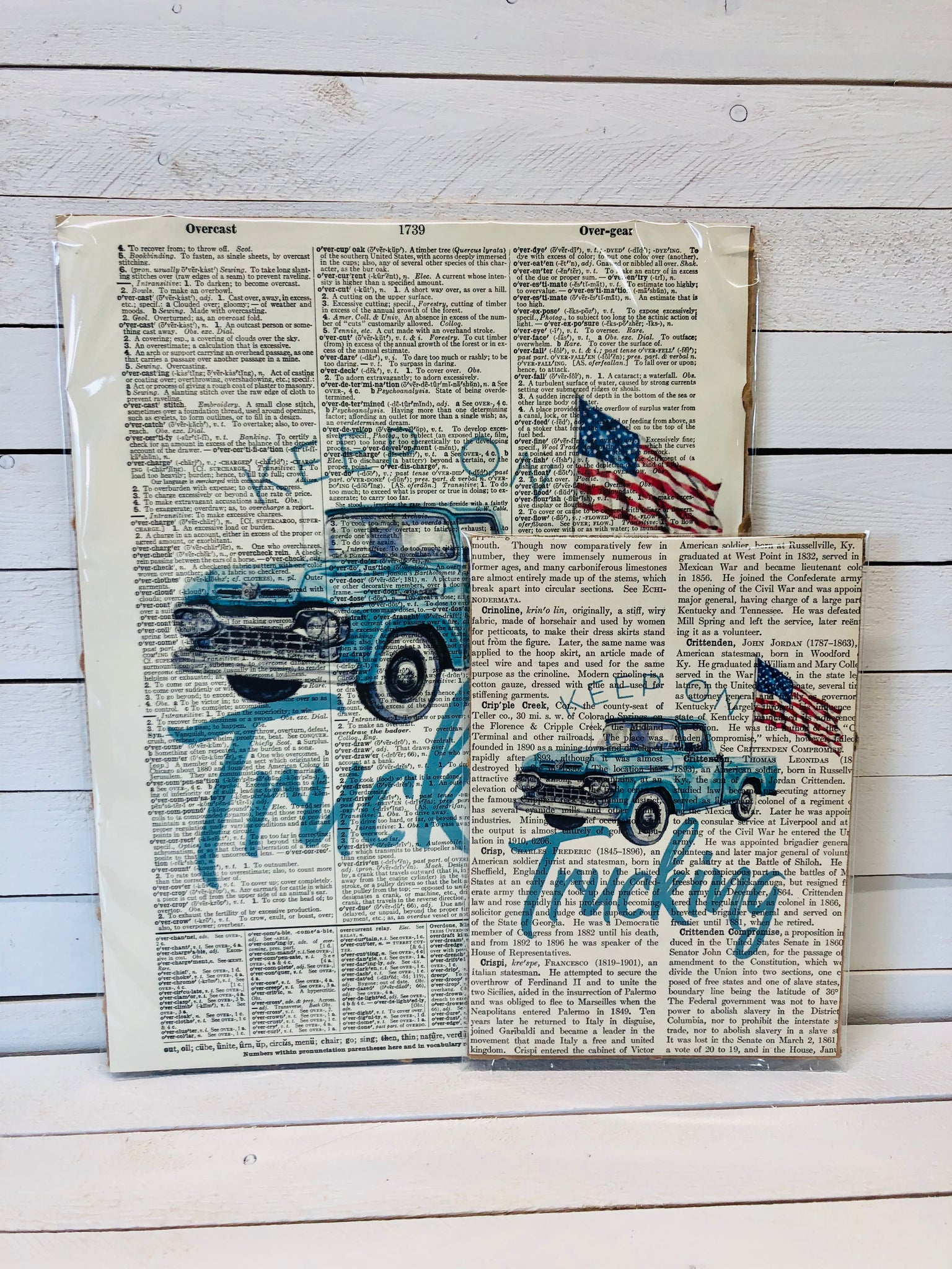 KEEP ON TRUCKING DICTIONARY PRINT (WHSL)
