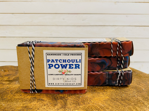 PATCHOULI POWER BAR SOAP (WHSL)