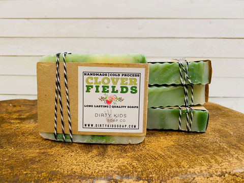 CLOVER FIELDS BAR SOAP (WHSL)