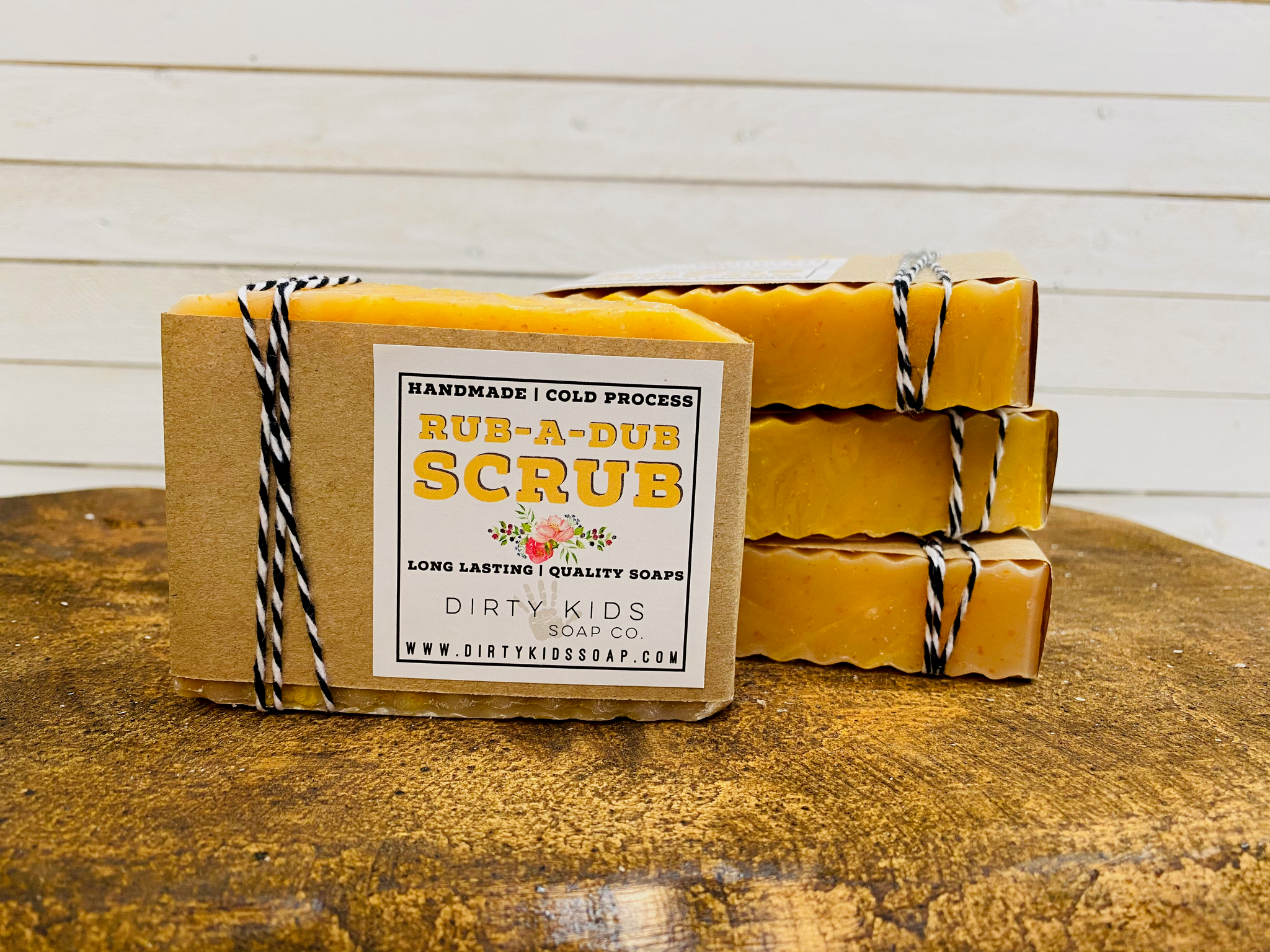 RUB A DUB SCRUB BAR SOAP (WHSL)