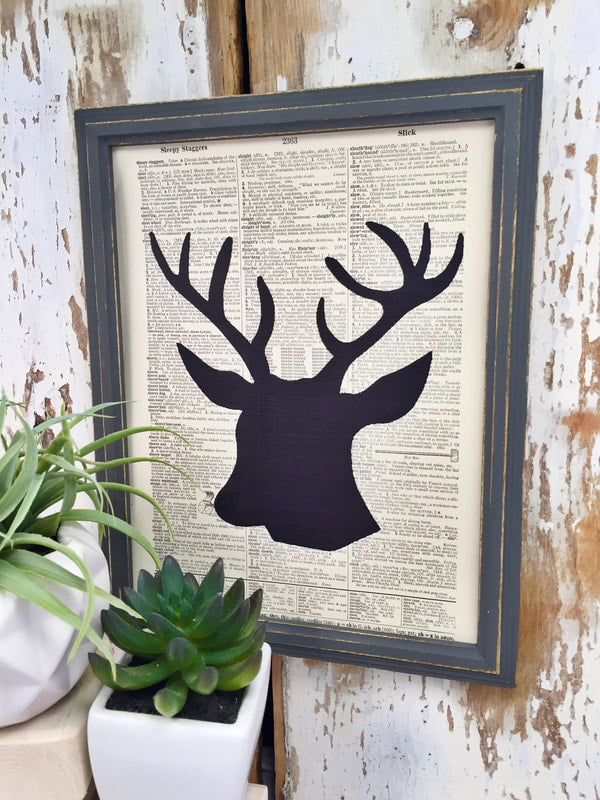 BLACK BUCK DICTIONARY PRINT (WHSL)