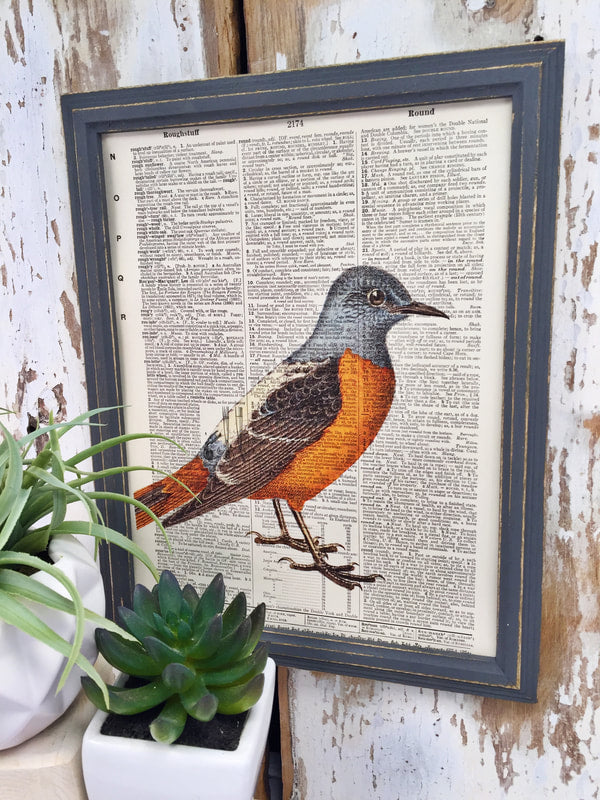 BLUE BIRD DICTIONARY PRINT (WHSL)