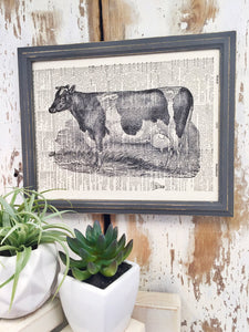 COW DICTIONARY PRINT (WHSL)