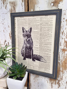 FOX DICTIONARY PRINT (WHSL)