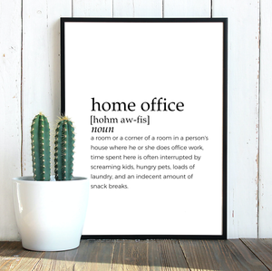 HOME OFFICE FARMHOUSE PRINT (WHSL)