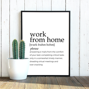WORK FROM HOME FARMHOUSE PRINT