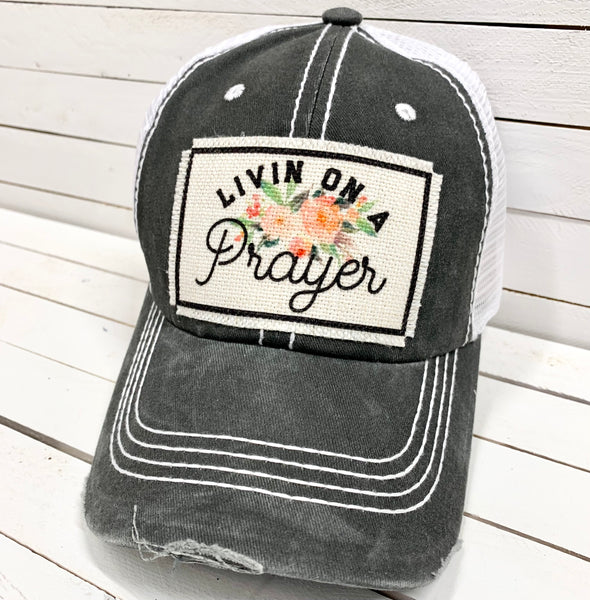 LIVIN' ON A PRAYER BALL CAP