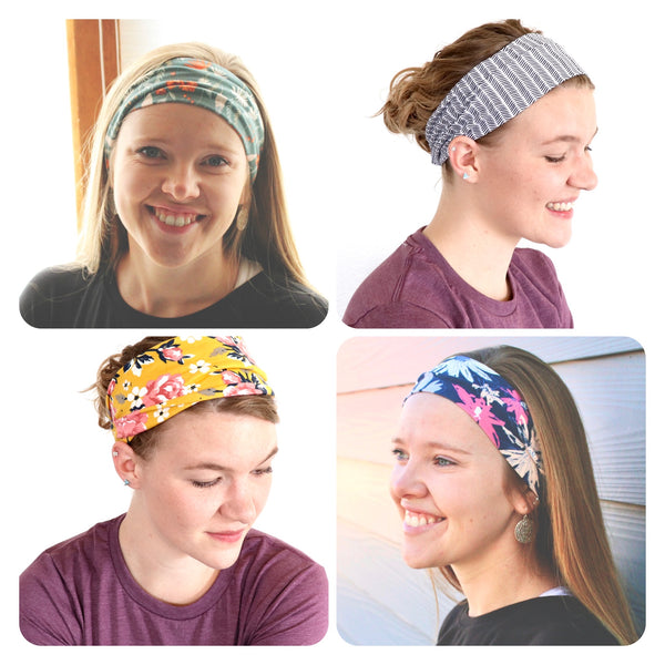 GATHERED HEADBANDS
