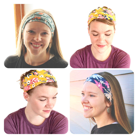 GATHERED HEADBANDS (WHSL)