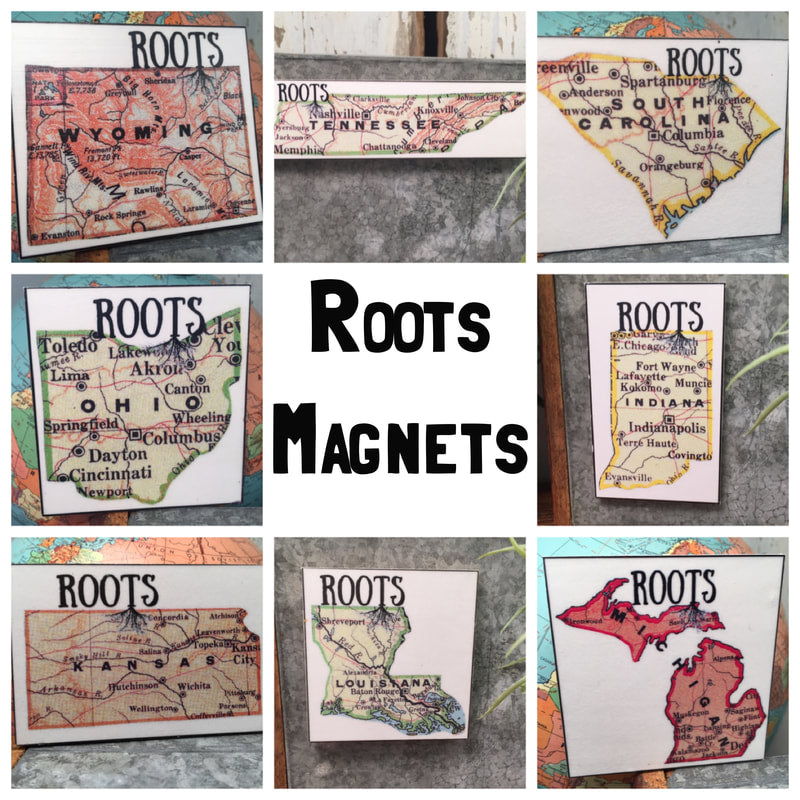 ROOTS STATE MAGNET (WHSL)