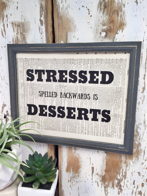STRESSED DICTIONARY PRINTS (WHSL)