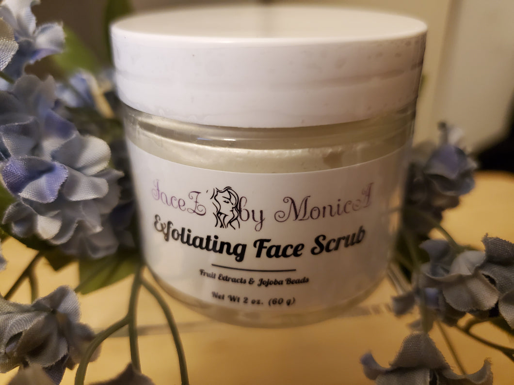 EXFOLIATING FACE SCRUB - 2oz