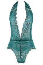 Load image into Gallery viewer, Emerald Floral Lace Teddy - ChynasSecret