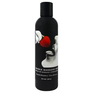 Edible Massage Oil 2oz/60ml in Succulent Strawberry - ChynasSecret