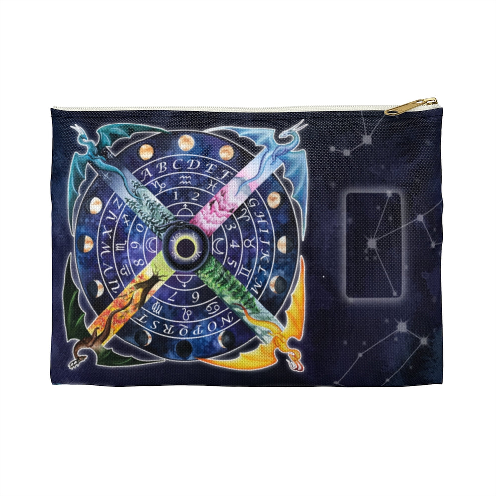 Pendulum Wheel Dragon Accessory Pouch