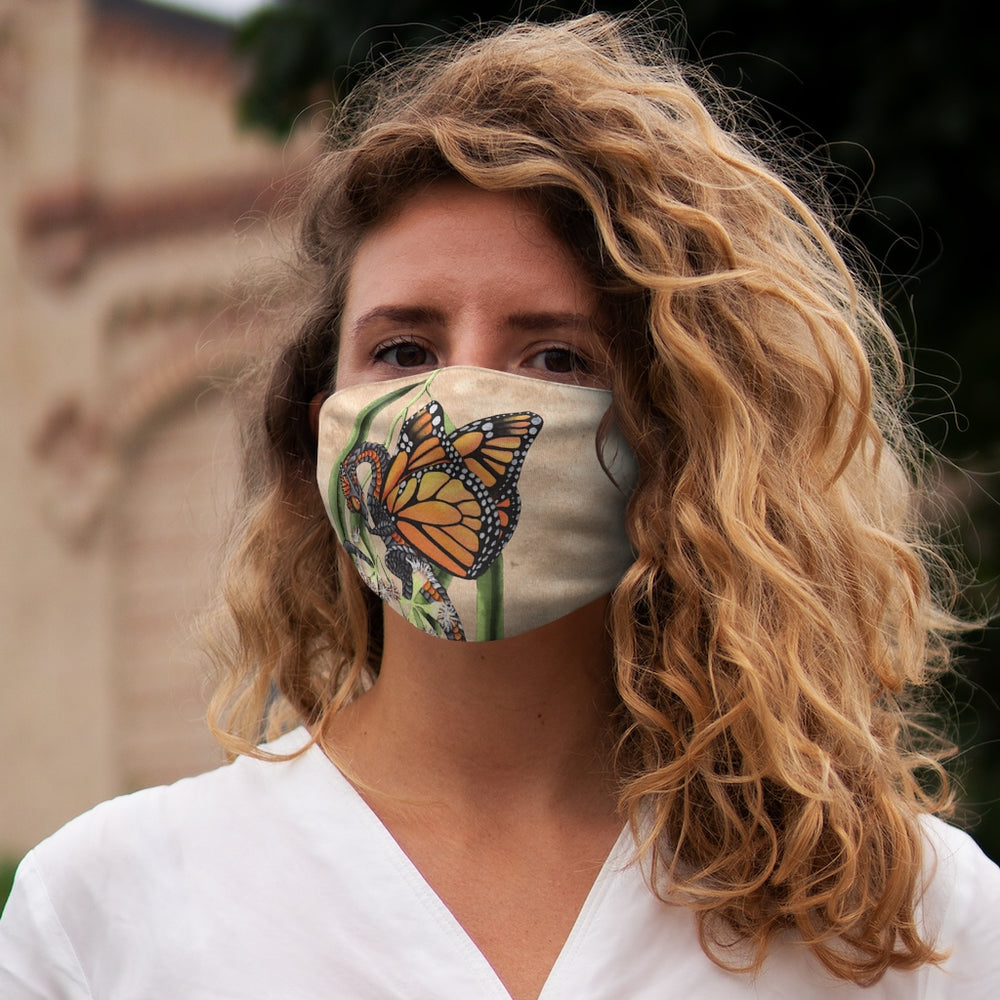 Load image into Gallery viewer, Enchanted Blossoms: Protection Snug-Fit Polyester Face Mask