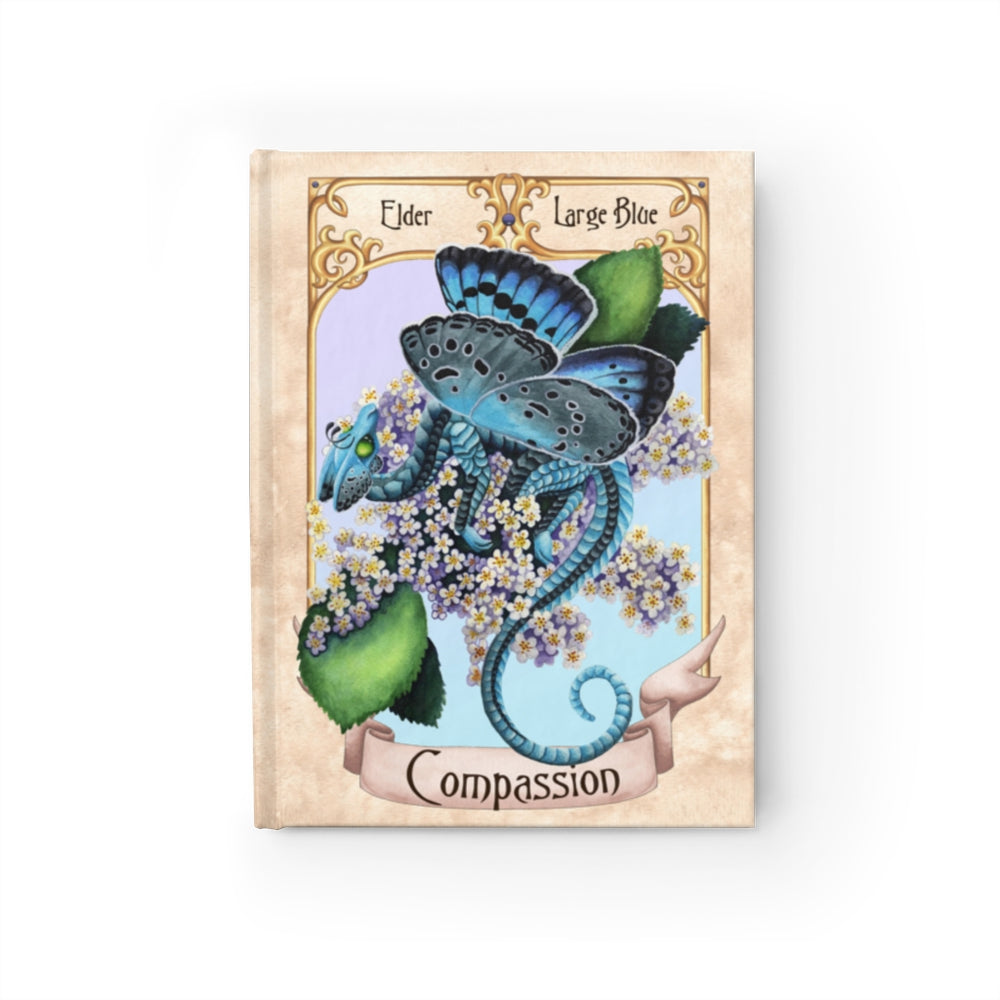 Enchanted Blossoms: Compassion Unlined Journal