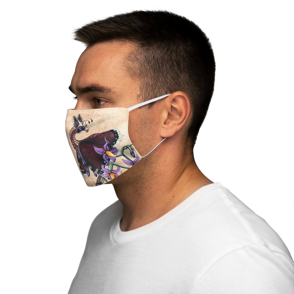 Load image into Gallery viewer, Enchanted Blossoms: Truth Snug-Fit Polyester Face Mask