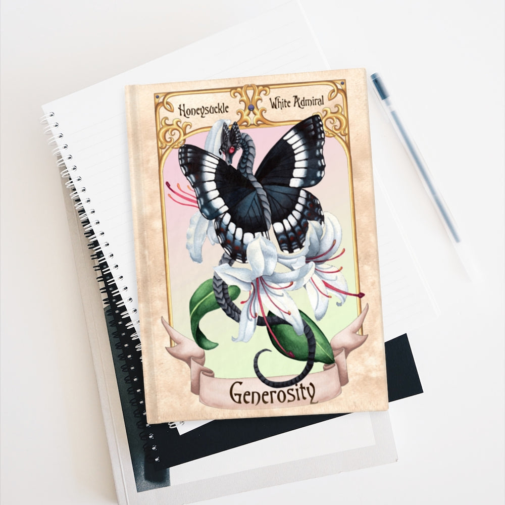 Load image into Gallery viewer, Enchanted Blossoms: Generosity Rule Lined Journal